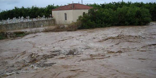 Άμεσα μέτρα για τις πλημμύρες